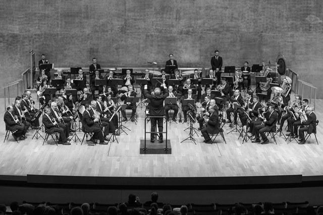 Concierto de la Banda Sinfonica Municipal de Alicante en el ADDA. Foto; Ayuntamiento de Alicante/Ernesto Caparrós