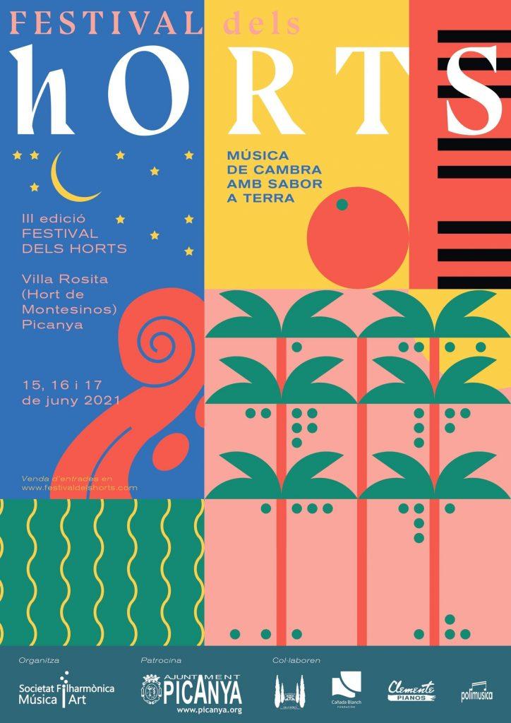 Cartel Festival dels Horts