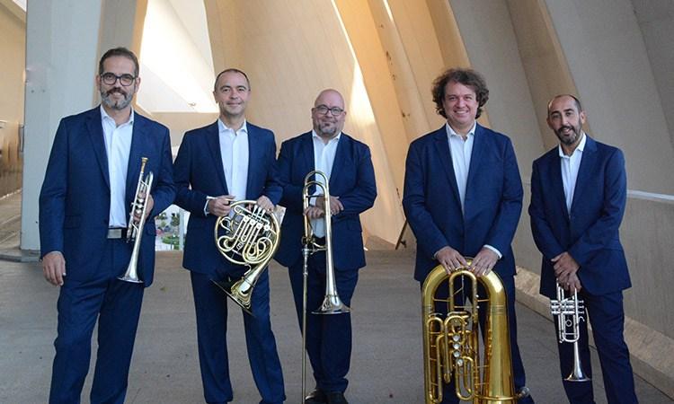 Els valencians Spanish Brass, Premi Nacional de Música 2020, actuaran el pròxim dijous 22.